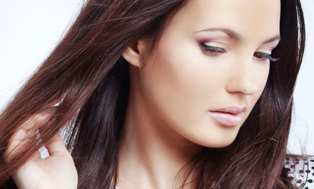 Blowout and Choice of Haircut, All Over Color, or Partial Highlights and Gloss at J'Adore De Hair (Up to 61% Off)