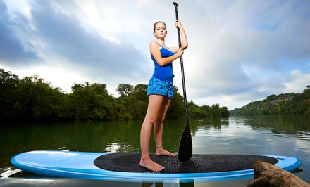 60-Minute Paddleboard Lesson and Rental for One, Two, or Four at Rick's Action Sports (Up to 56% Off)