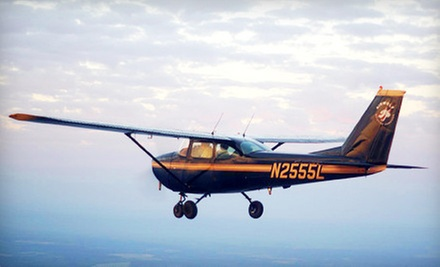 One Discovery Flight or Three Two-Hour Flying Lessons at Airwolf Aviation (Up to 53% Off)