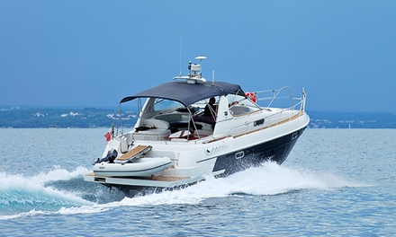 $239 for Powerboat Rental with Inner Tube and Water Skis from South River Boat Rentals ($540 Value)