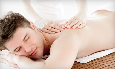 One or Two 60-Minute Massages with a Comprehensive Health Assessment at HealthSource Chiropractic (Up to 62% Off)