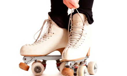 Roller Skating for 2 or Roller Skating for 4 with Popcorn and Soda at Fast Forward Skate Center (Up to 50% Off)