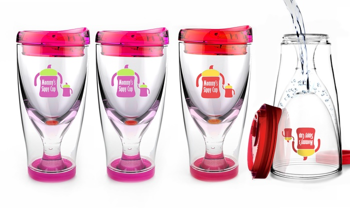 Asobu Ice Vino 2 Go Mommy 39 S Sippy Cup Wine Travel Cups 2