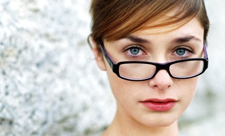 Pair of Prescription Eyeglasses or Eye Exam and $200 Toward a Pair of Eyeglasses at Pearle Vision (Up to 80% Off)