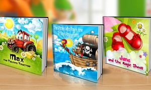 One Personalized Softcover Or Hardcover Children