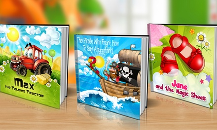One Personalized Softcover or Hardcover Children's Book from Dinkleboo (Up to 65% Off)