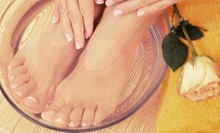European Spa Manicure, Spa Pedicure, or Both at Cynthia's Salon Day Spa (Up to 53% Off)