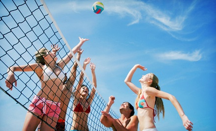 Friday Night Sand-Volleyball Tournament Entry for Two or Four at Stratford Sand Volleyball (Up to 60% Off)