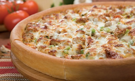 Pizza and Drinks for Dine-In or Carry-Out at Godfather's Pizza (43% Off)