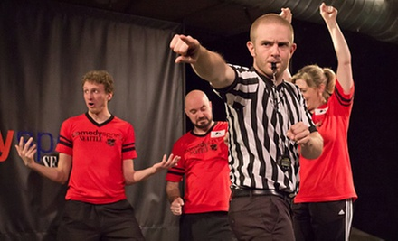 Improv Show for Two or Three at ComedySportz Seattle (Up to Half Off)