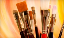 One or Three Painting Classes, or Sunday Workshop for Up to Six Students at Art School # 99 (Up to 58% Off)