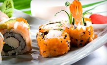 Sushi and Drinks or Hibachi Food for Dinner at Sawa Japan (Half Off)