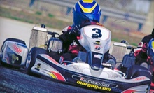 $29 for a 15-Minute Ride in a Professional Go Kart at Sutton Mini-Indy Go-Karts ($60 Value)