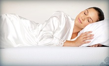 One or Two Queen-Size Memory-Foam Pillows at Cellupedic (Up to 62% Off)