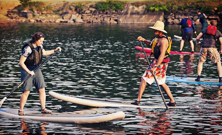 Standup-Paddleboard Fundamentals Lesson or Membership for One or Two from Potomac Paddlesports (Up to 56% Off)