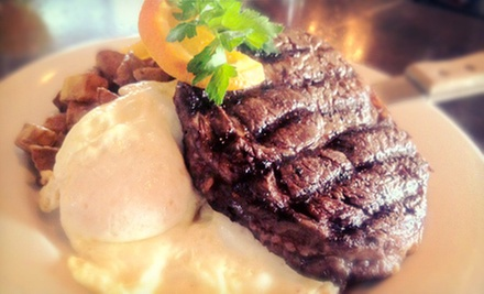 American Food for Brunch or Lunch for Two or Four at El Dorado Saloon (Up to 53% Off)