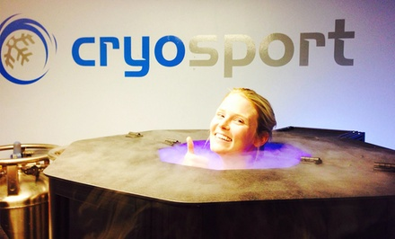 One or Three Cryotherapy Sessions or a Month of Cryotherapy Sessions at CryoSport Recovery (Up to 50% Off)