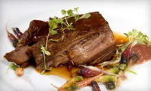 C$20 for C$40 Worth of French Cuisine for Dinner at La Cigale French Bistro
