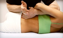 $45 for a Four-Session Chiropractic Package at Recharge Sports Injury Center in Herndon ($490 Value)