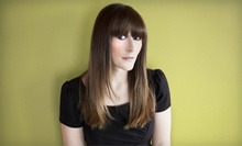 Haircut, Blow-Dry, and Style with Optional Partial or Full Highlights at Eurolux Salon and Day Spa (Up to 55% Off)