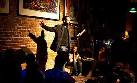 $25 for Performance and Drinks for Two at Nuyorican Poets Cafe (Up to $54 Value)