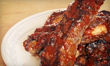 Barbecue at B.T.'s Smokehouse (Up to 56% Off). Two Options Available.