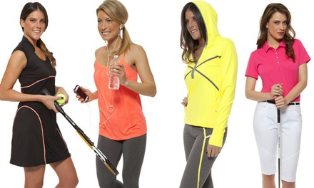 Women's Sports and Activewear Brands at Pinks and Greens (50% Off). Two Options Available.