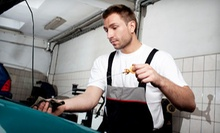 $19 for an Oil Change with Tire Rotation, Brake Inspection, and 17-Point Inspection ($73.33 Value)