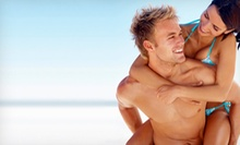 Three UV-High Pressure Bed Tans or Three or Five Mystic Spray Tans at Tropical Tan Inc. (Up to 56% Off)