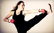 10 Classes or One Month of Unlimited Fitness-Kickboxing Classes at Kickaro's Martial Arts & Fitness (Up to 76% Off)