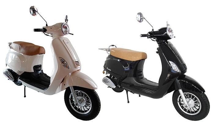 Scooter Kenrod Bravo 125 cc em branco ou preto por 1.399€