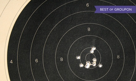 Shooting-Range Packages for Two at Quickshot Shooting Range (Up to 40% Off). Three Options Available.