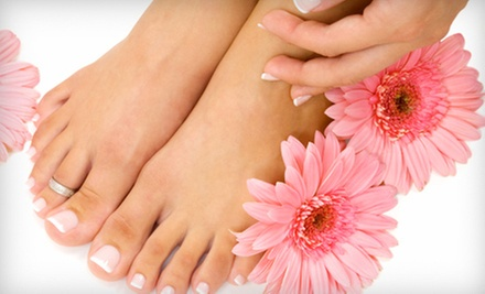 One or Three Mani-Pedis with Oil Treatments at Inspiration Beauty Salon (Up to 55% Off)