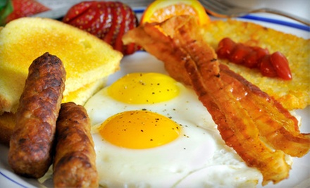 Breakfast or Cafe Cuisine on Monday through Friday at Penny Ann's Cafe (Half Off). Two Options Available.