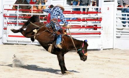 $10 for ABC Pro Rodeo for Two at Lubbock City Bank Coliseum on March 27, 28, or 29 ($20 Value)