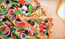 Specialty Pizza and Wings from Perinton Pizza in Fairport (Up to 52% Off). Three Options Available.