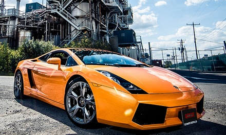 Porsche, Audi, Ferrari, Nissan GTR, or Lamborghini Driving Experience from Ultimate Exotics (Up to 57% Off)