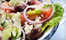 Greek Food at Greek Village Inn (Half Off). Three Options Available.