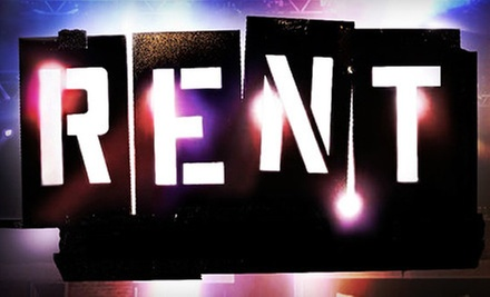 "$49 for ""Rent"" Musical for Two at Lower Ossington Theatre (Up to $98 Value)"