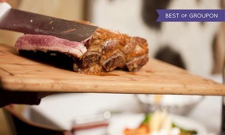 $40 Toward Brazilian Steak-House Dinner for Two or $80 Toward Dinner for Four at Nelore Churrascaria