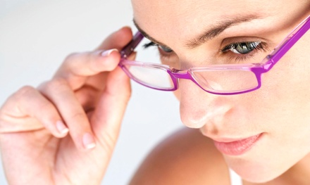 $39 for an Eye Care Package Including Eye Exam, Prescription Lenses, and Frames at Optical Experts ($200 Value)