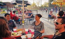 $7 for $15 Worth of Appetizers, Sandwiches, and Pizza at Izzee's BareFoot Bar at The VolleyPark