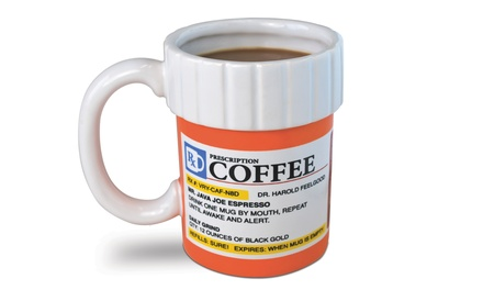 Big Mouth Toys Prescription Coffee Mug