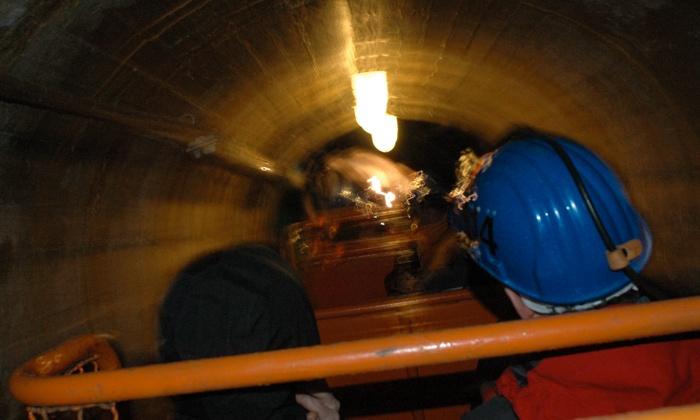 Scopriminera - SCOPRIMINIERA: ScopriMiniera - Tour sotterraneo alla Miniera Paola con visita guidata a 7 €
