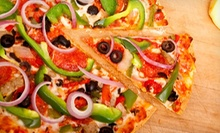 One-Topping Thin-Crust Pizza with Bread and Salad or Soda, or $10 for $20 Worth of Pizza and Subs at Toarmina's Pizza