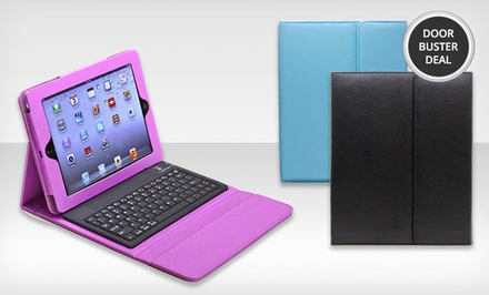Aduro Liqua-Shield iPad Folio Case with Bluetooth Keyboard. Free Returns.