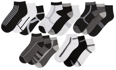 15 Pairs of Beverly Hills Polo Club Men's Socks