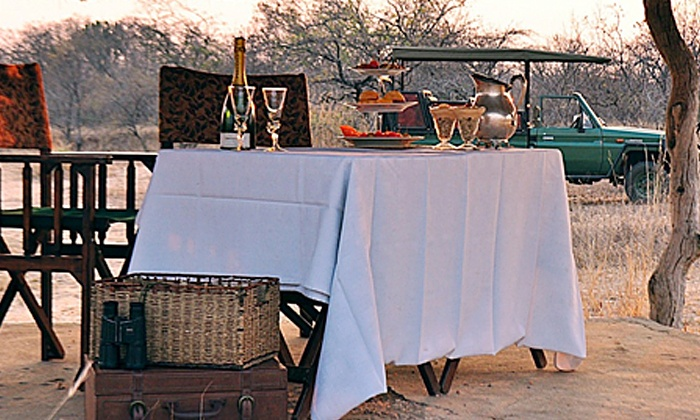 Mafigeni Safari Lodge - Mafigeni Safari Lodge: Limpopo: All-Inclusive Stay for up to Four People at Mafigeni Safari Lodge