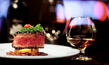 Dinner with Salad, Entree, Dessert, and Tea and Coffee at Mercury Chop House (Up to 48% Off)