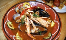 $20 for $40 Worth of Portuguese Food or Dinner for Four at Quinta Restaurant (Up to 53% Off)